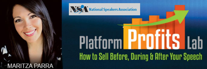 National Speaker's Association Platform Profits