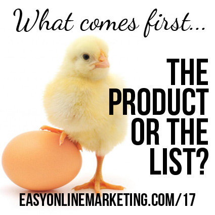 30 Days of LOA – What comes first, the product or the list?