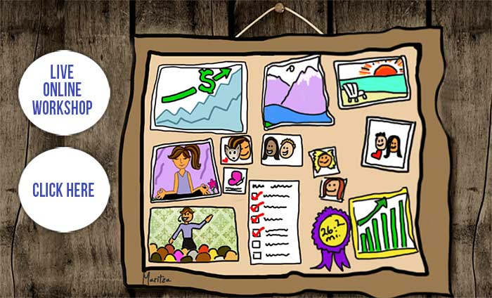 Business Vision Board blog ad