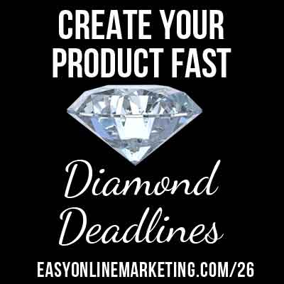 30 Days of LOA – Tap into the Power of Diamond Deadlines in Your Online Business