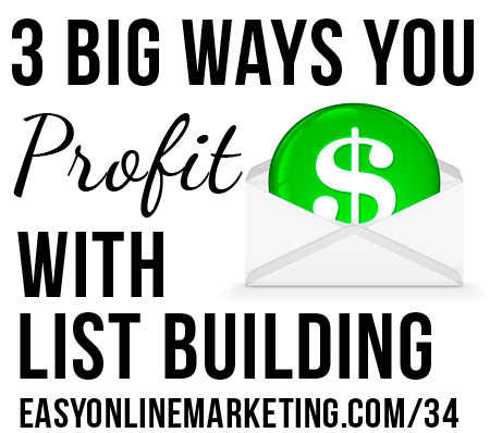 30 Days of LOA – 3 Big Ways You #Profit from #ListBuilding