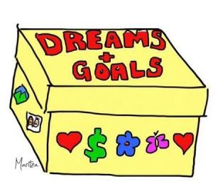 dreams and goals vision box