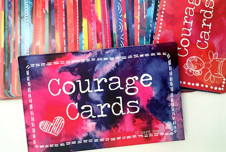 courage cards mobile