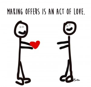 Making Offers in Your Business is an Act of Love