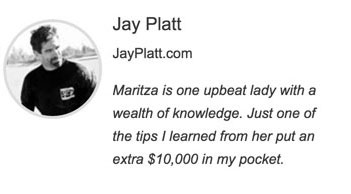 Jay testimonial