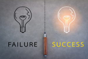 Failure vs success