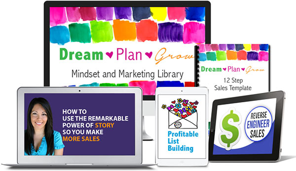 year marketing and mindset bonus library
