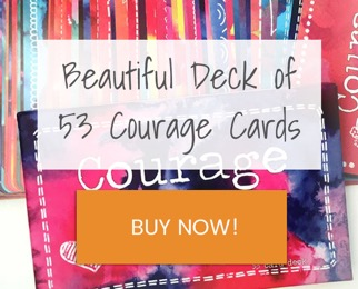 Courage Card deck CTA