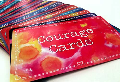 get courage cards