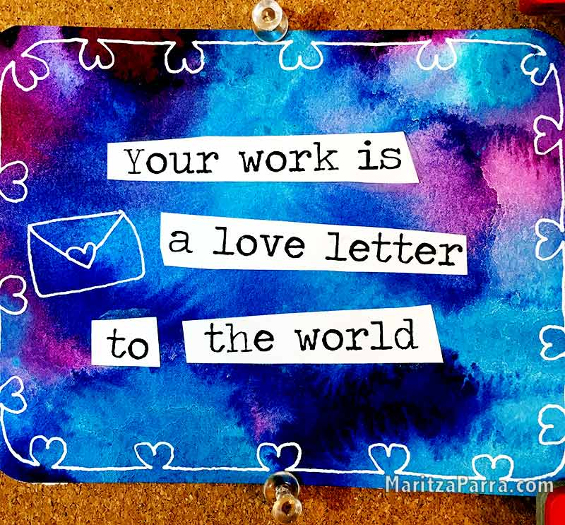 your business is a love letter to the world