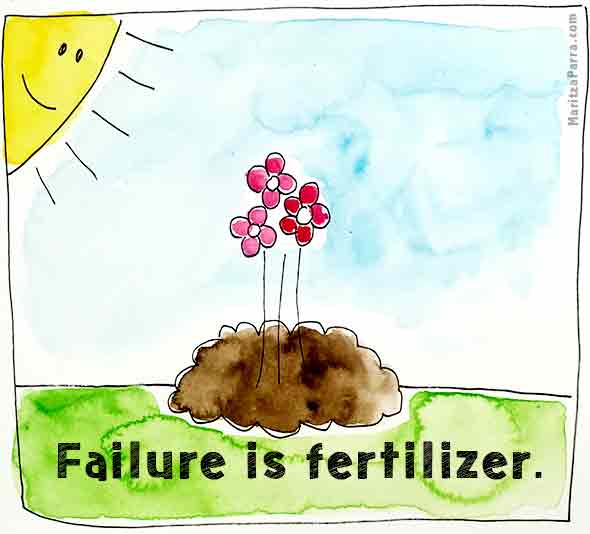failure is fertilizer