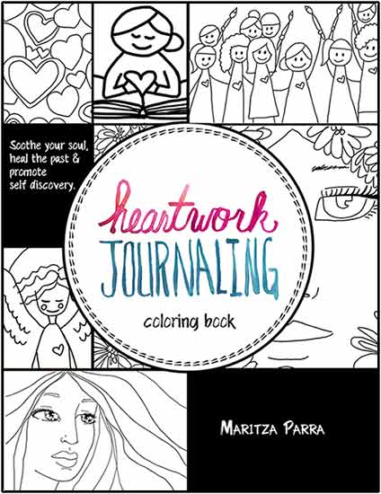 Heartwork Journaling coloring book