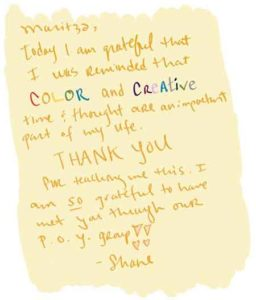 Shane thank you note