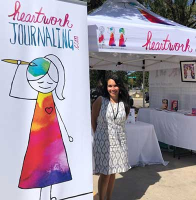 heartwork journaling booth