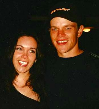 maritza with matt damon