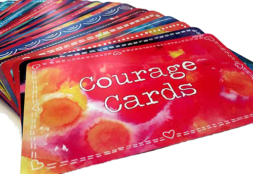 courage cards deck